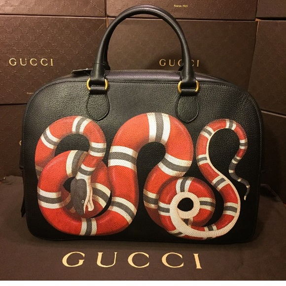 96deafca5d78 Gucci King Snake Bag. NWT. Gucci. $2,499 $2,899. Size